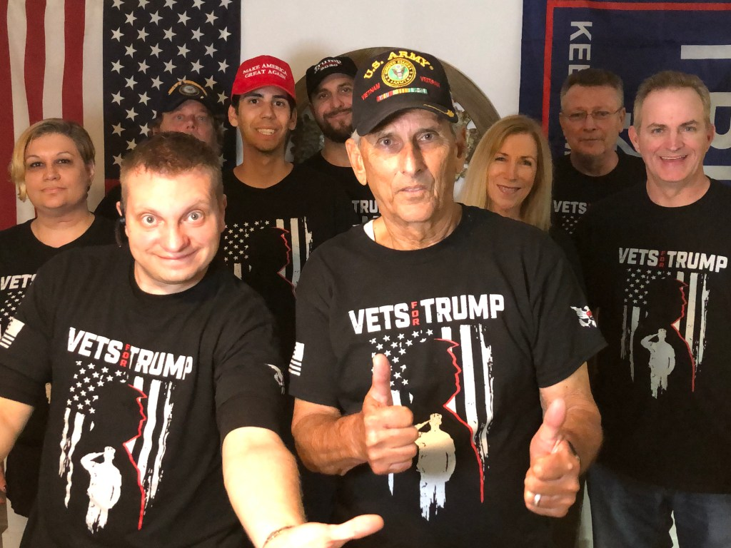 Vets for Trump meeting