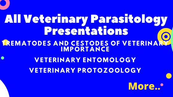 All Veterinary Parasitology Presentations