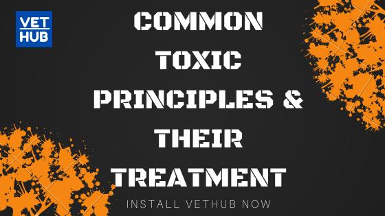 COMMON TOXIC PRINCIPLES & THEIR TREATMENT