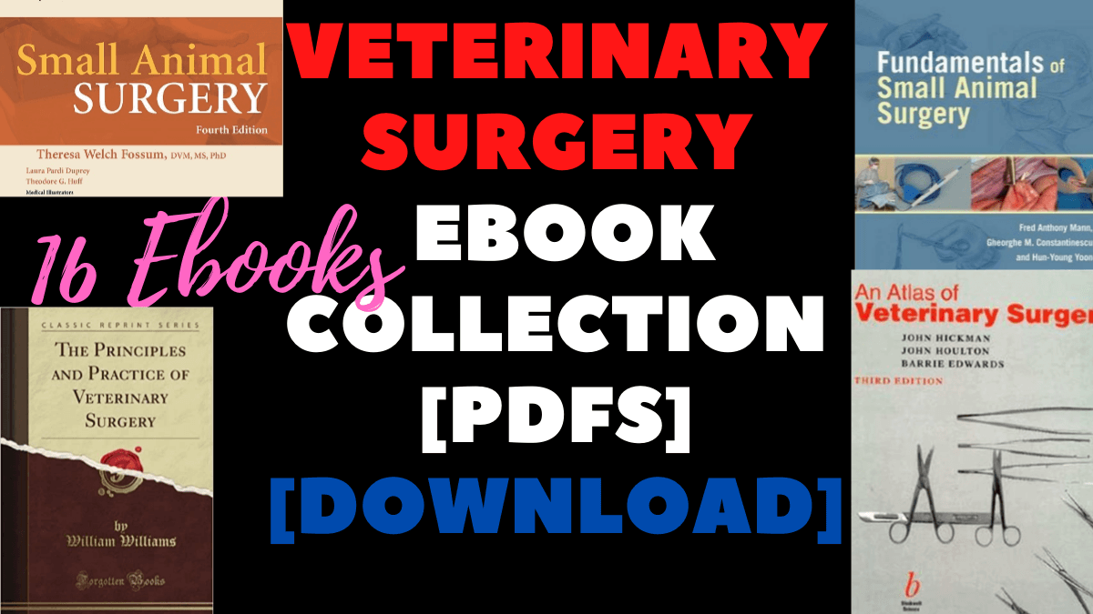 VETERINARY surgery 16 eBook Collection