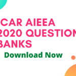 ICAR AIEEA 2020 Question Banks