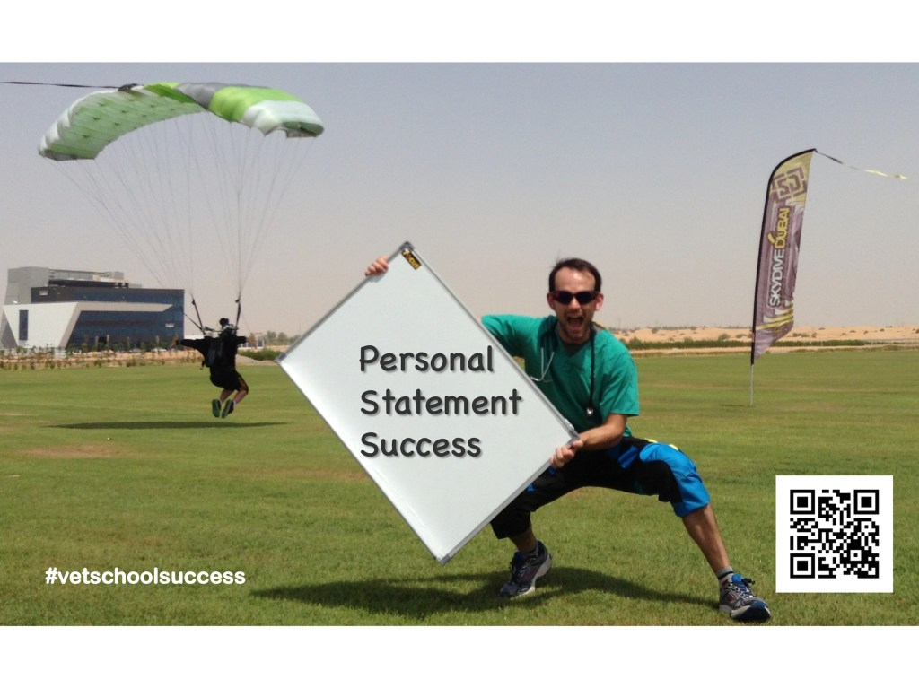 Personal Statement Success, Skydive, Vet School Success