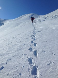 Climbing to the summit of Gran Paradiso