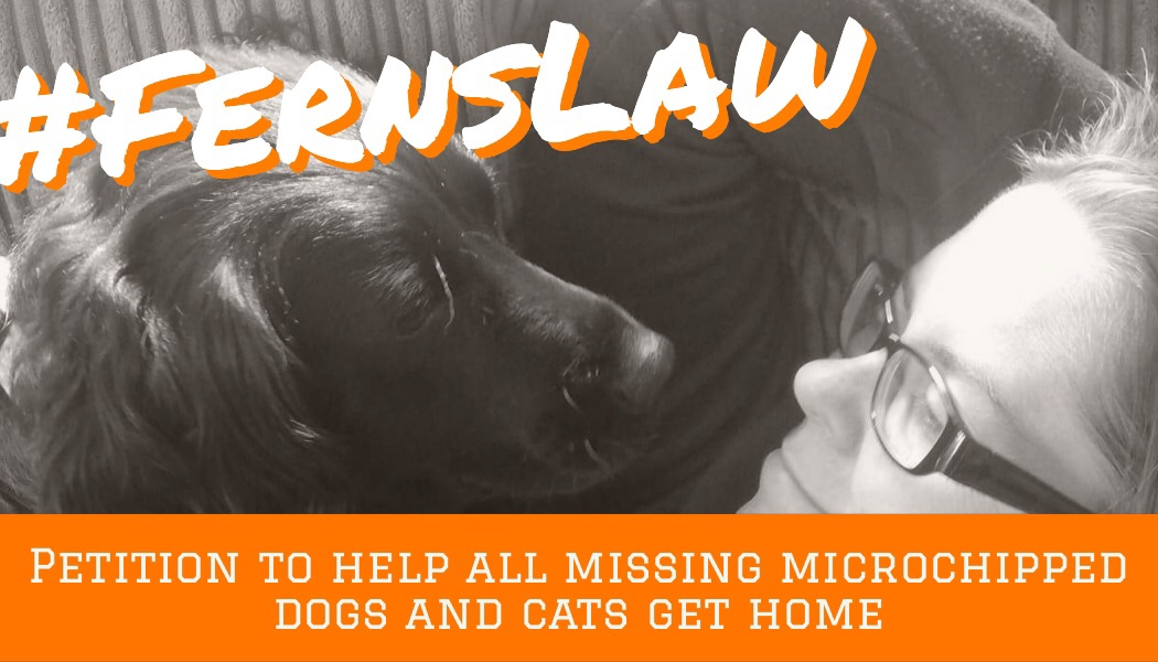 #FernsLaw petition: Make Scanning and Checking Microchip Registration Law, supported by our dog's and cats!  Take a look
