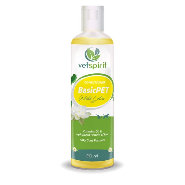 BasicPET Conditioner - White Lotus - 210 ml 1