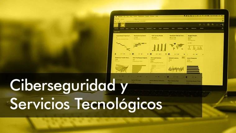 Ciberseguridad y servicios tecnológicos