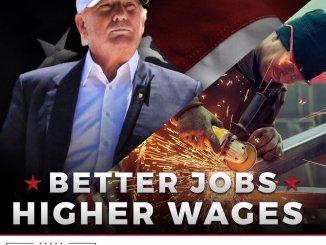 Илюстрация от туитър акаунта на Доналд Тръмп.