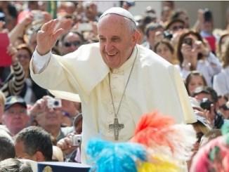 Снимка от туитър акаунта на папа Франциск.
