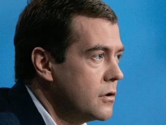 Снимка от туитър акаунта на Дмитри Медведев.