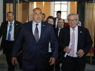 Борисов и Юнкер Снимка от сайта на Бойко Борисов.
