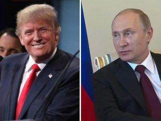 Доналд Тръмп и Владимир Путин.