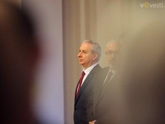 Проф. Огнян Герджиков, служебен премиер. снимка: Пламен Трифонов