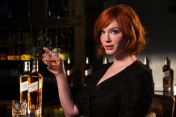 Diageo'nun marka yüzü Christina Hendricks