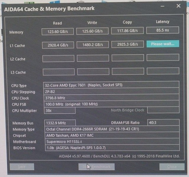 Overclocking AMD EPYC 7601 or what to expect from the 32