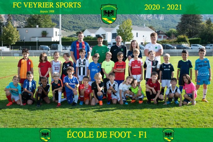Ecole de Football du FC Veyrier sports - F1 - saison 20-21