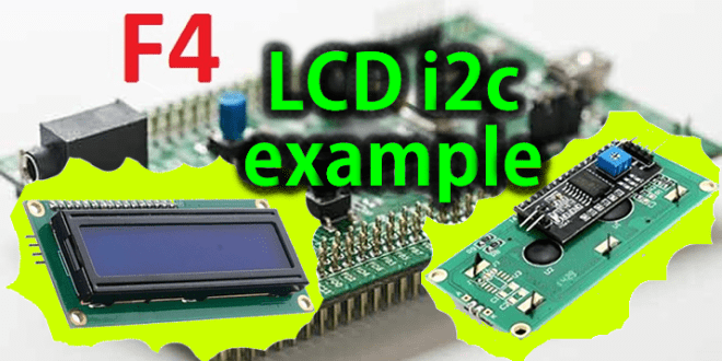 VN42 - LCD i2c example