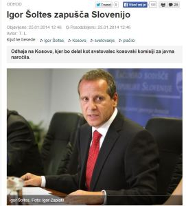Šoltes kosovo slovenske novice