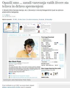 SMC fotke anonimnost DELO