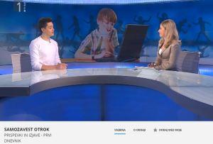 TV SLO Žmahar samozavest