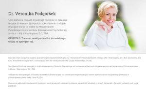 Veronika Podgoršek predstavitev