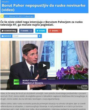 Moski.si Pahor intervju RT