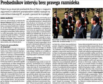 Pahor RT Večer Jaušovec