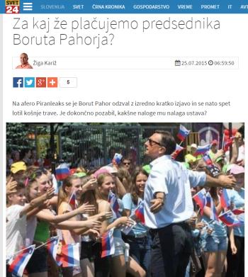 Svet24 kritika Pahorja Kariž