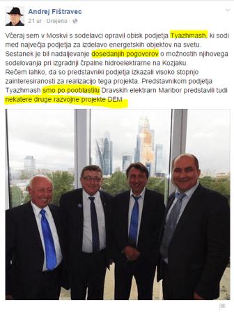 Fištravec Rusija DEM laž
