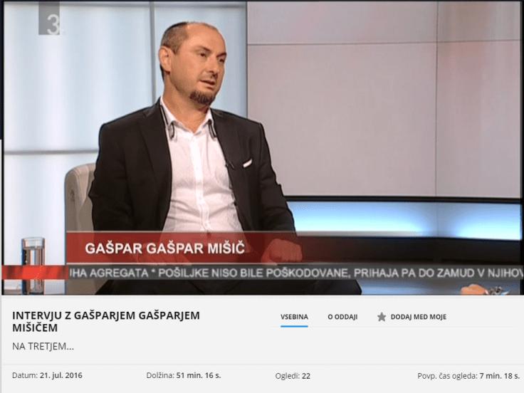 GG Mišič intervju 3 program
