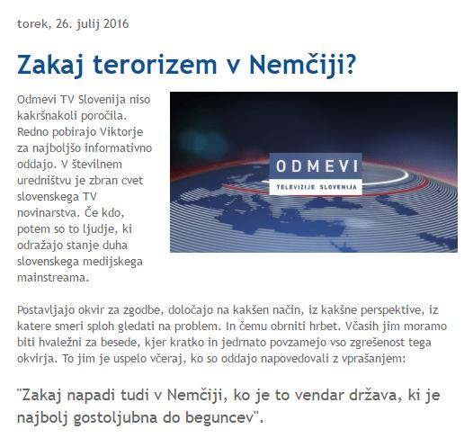 Turk zakaj terorizem