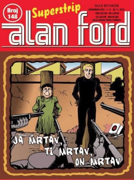 Alan Ford mrtav