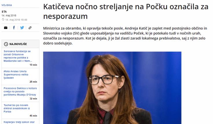 Katič nesporazum Dnevnik
