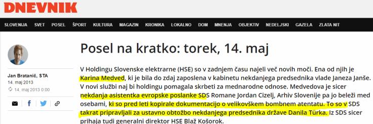 Karina Medved Dnevnik