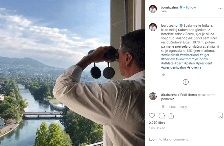 Pahor daljnogled privlačna atletinja