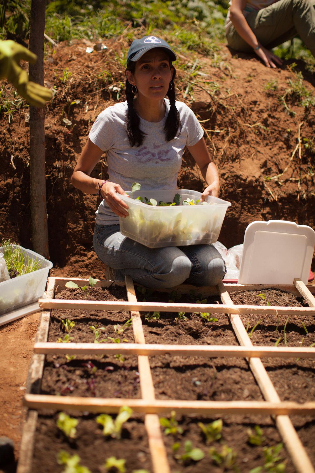 Sololá, Guatemala - Square Foot Gardening Humanitarian Service Project