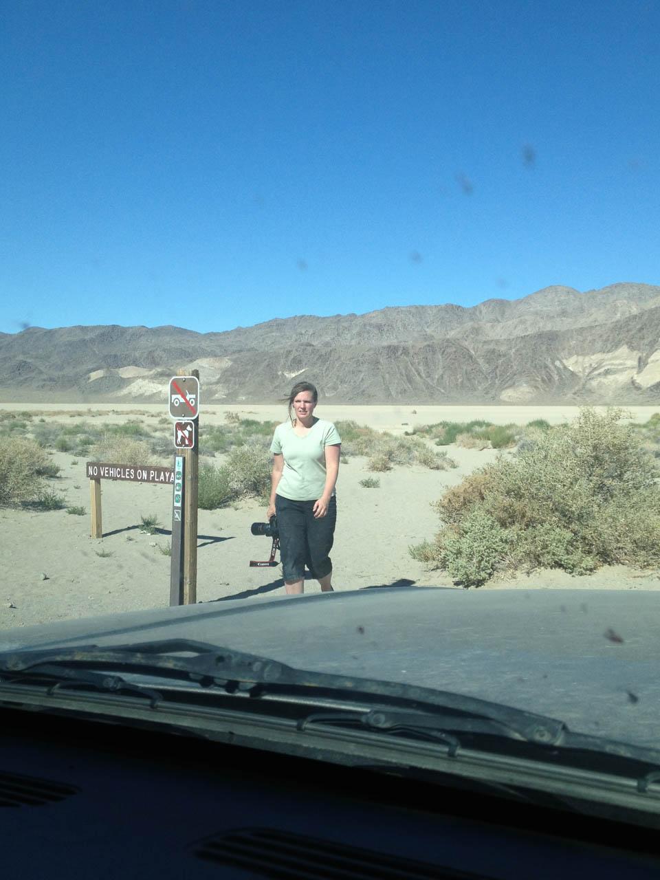 Death Valley California Racetrack Playa Racing Rocks