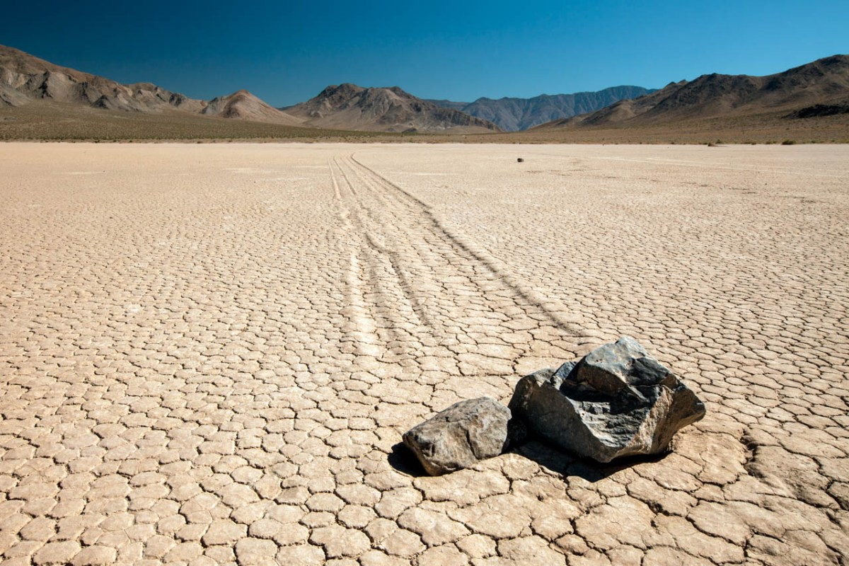 Bucket List Death Valley California Racetrack Playa Racing Rocks