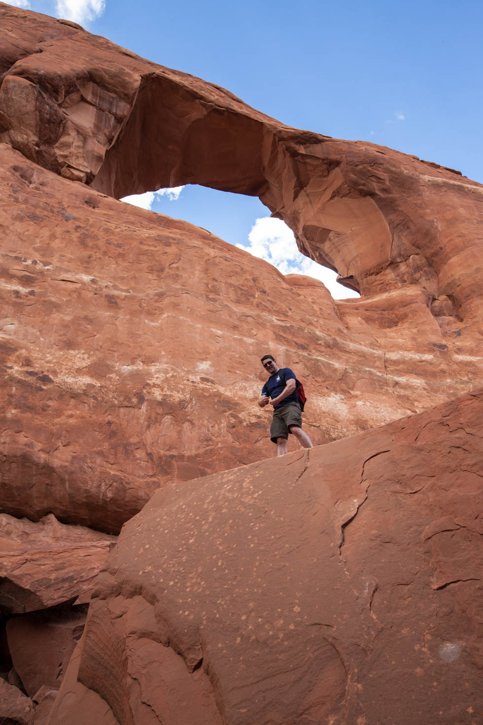 Skyline Arch, Arches National Park, Moab, Utah #vezzaniphotography