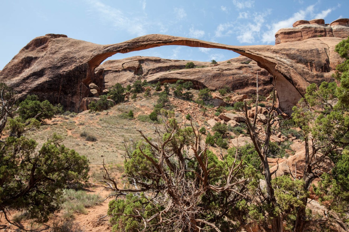 Landscape Arch, Arches National Park, Moab, Utah #vezzaniphotography