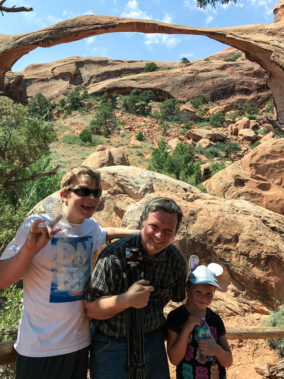 Landscape Arch, Arches National Park, Moab, Utah #vezzaniphotography