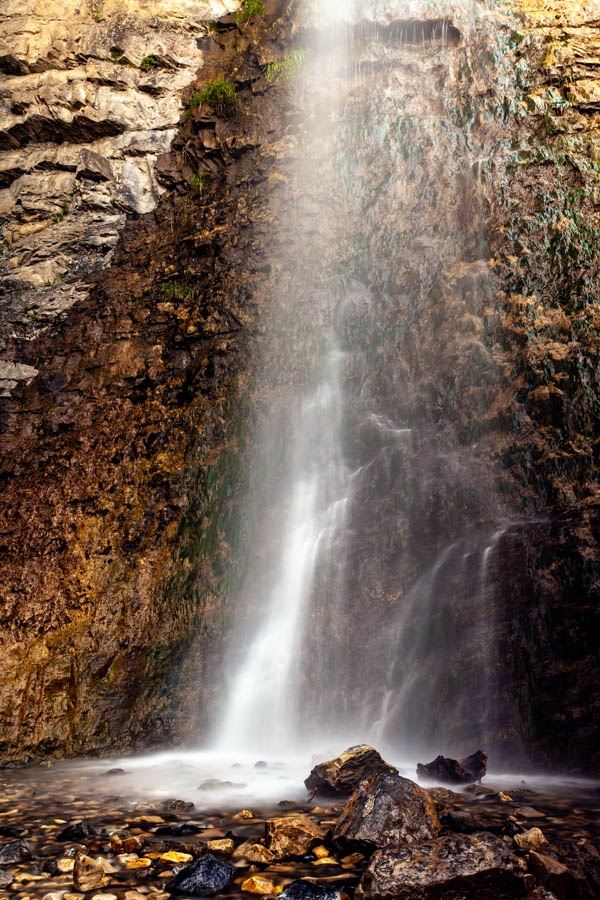 5 Reasons to Hike Battle Creek Falls, Pleasant Grove, UT - Photograph Silky Waterfalls #vezzaniphotography