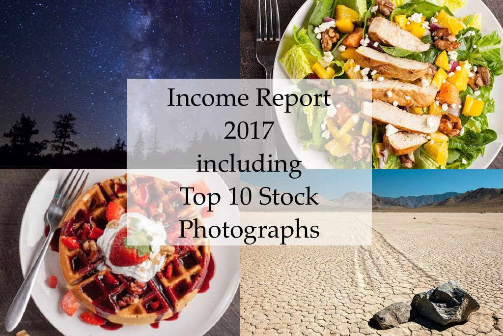 Income Report 2017 Top 10 Stock Photography Sales #vezzaniphotography