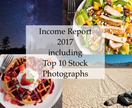 Income Report 2017 PLUS My top 10 stock photography sales