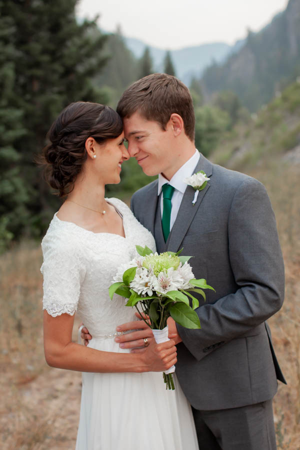 Tibble Fork Bride & Groom Portraits in American Fork Canyon & the Mount Timpanogos Temple #vezzaniphotography