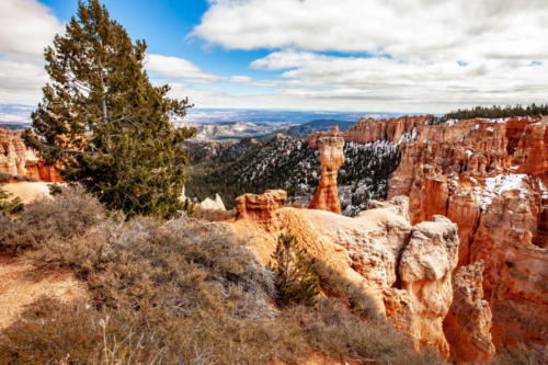 18-Mile Scenic Drive Agua Canyon Overlook at Bryce Canyon National Park #vezzaniphotography