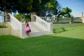 Bayley's Plantation - Vanessa Ferguson Kellman thinking about the plantation's rich history