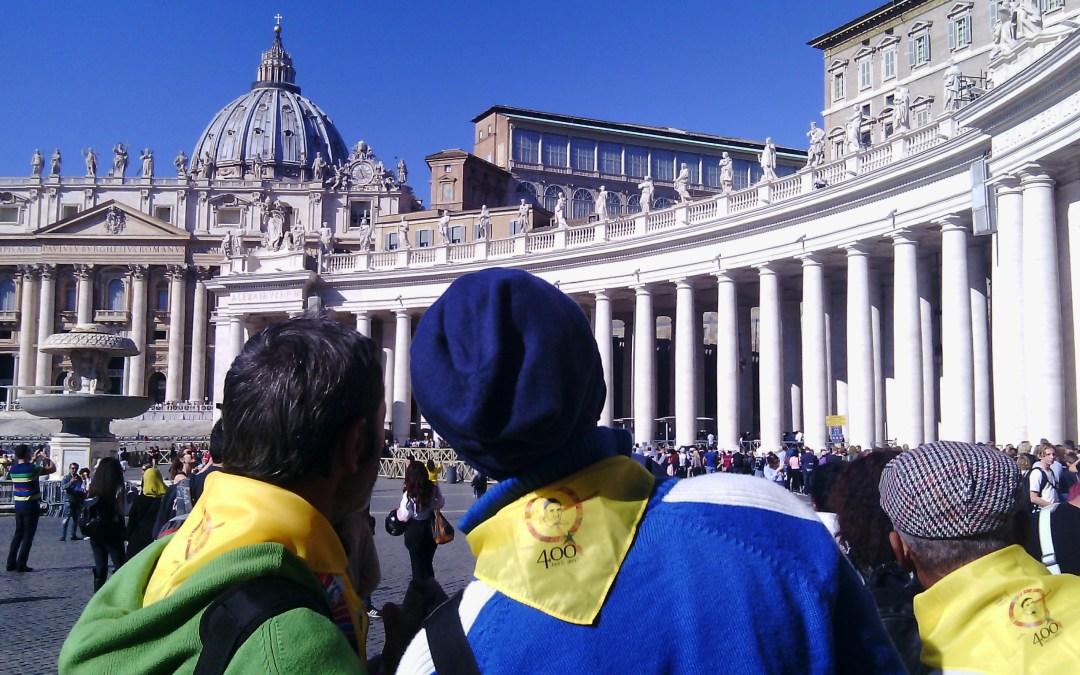 La «Caridad» de Turin en el Simposio Vicenciano en Roma