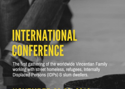 International Conference of the Famvin Homeless Alliance