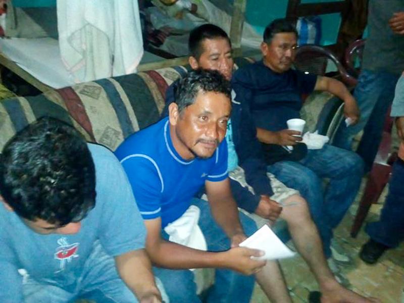 Acogiendo al forastero en Ciudad de Guatemala