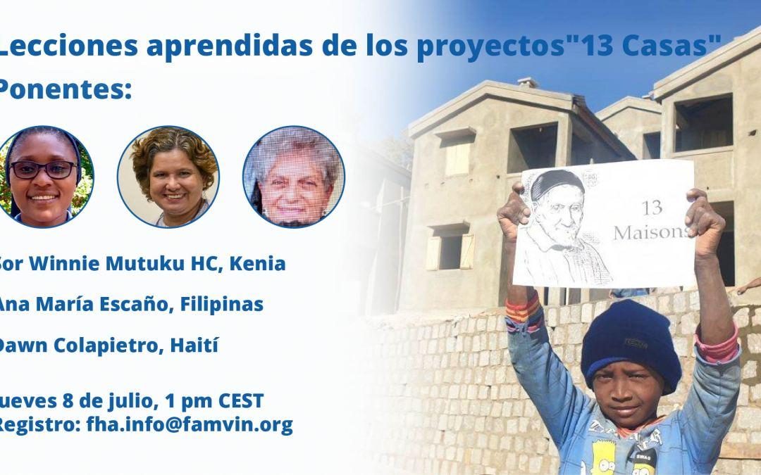 """Lecciones aprendidas de los proyectos de las """"13 Casas"""": Conoce a las ponentes"""